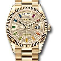 Rolex Day-Date 36 128238 Неношеные Жёлтое золото 36mm