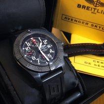 Breitling Avenger Skyland Acier 45mm Noir Arabes France, FAMECK