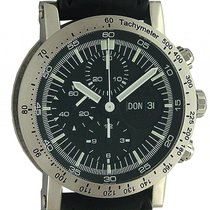 Temption Chronograph Classic Day Date Black 43mm