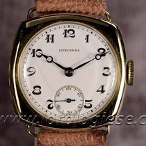 Longines Vintage 1927 18kt Gold Cushion Watch Top Condition...