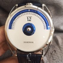 De Bethune new Manual winding Guilloche Dial 45mm Titanium Sapphire crystal