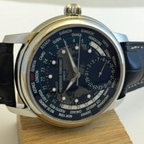 Frederique Constant Worldtimer Manufacture Blu New Official...