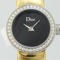 Dior La D Quartz Steel Lady Bezel Diamonds CD0400110-J (New)