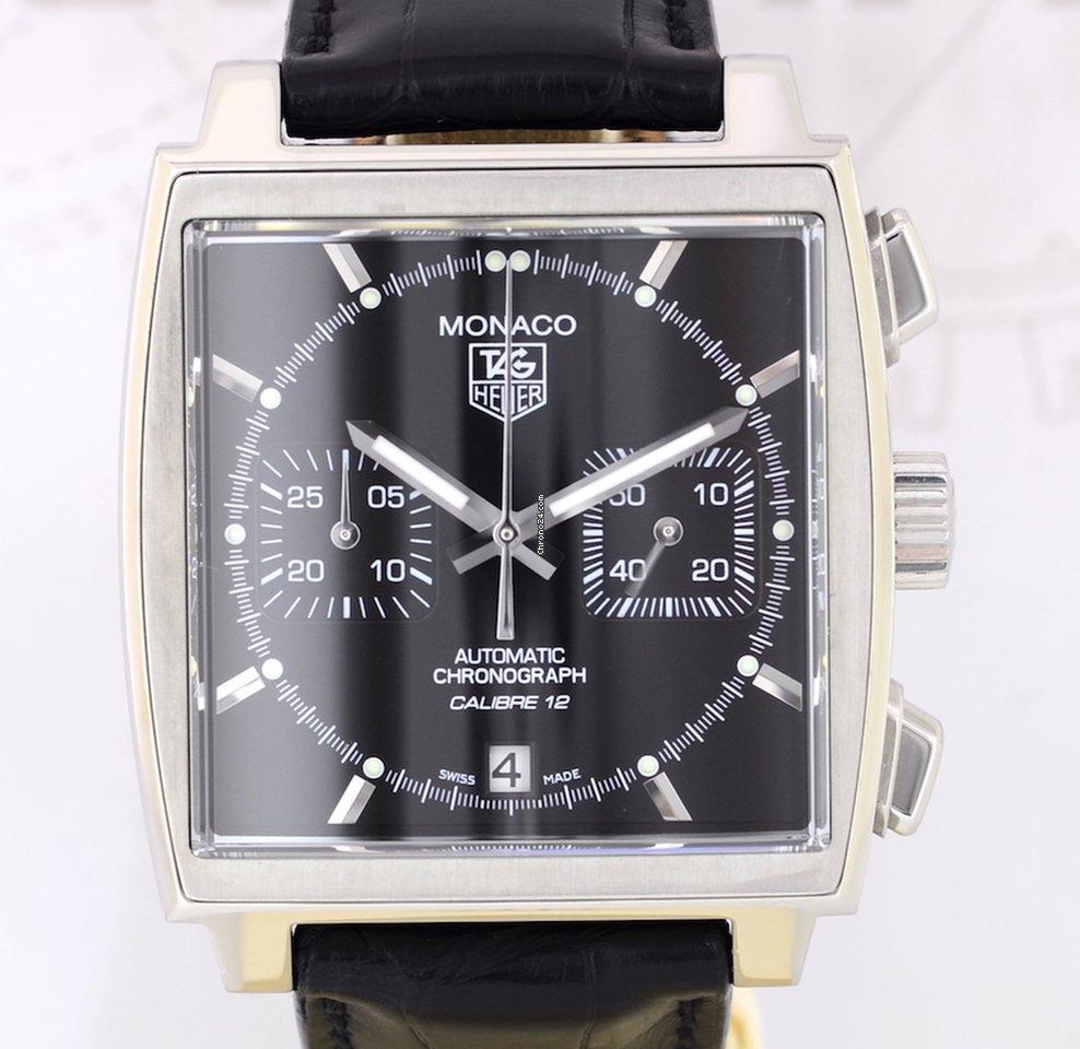 341dfc4f6e7 TAG Heuer Monaco Calibre 12 - all prices for TAG Heuer Monaco Calibre 12  watches on Chrono24