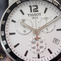 Tissot Quickster Chronograph 42mm Stainless Steel / Silver / NATO