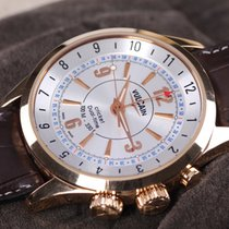 Vulcain Aviator Cricket Dual Time Rose Gold