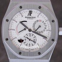 Audemars Piguet Royal Oak Dual Time box & registered...