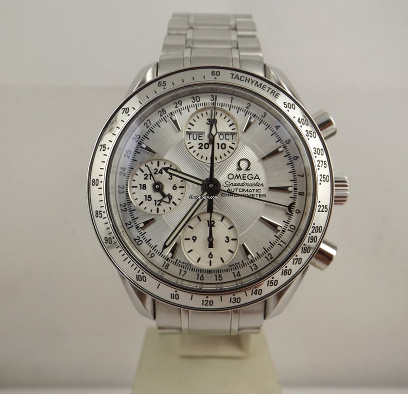 outlet 523fe 23336 Omega Speedmaster automatic 35233000 triple chronograph day date