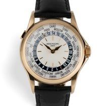 Patek Philippe 5110J World Time - Yellow Gold Complete Set