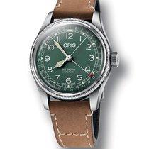 Oris Big Crown D.26 HB-RAG LTD Leather Strap Watch 01 754 7741...