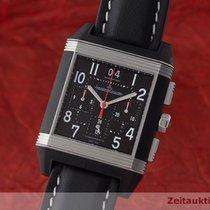 Jaeger-LeCoultre Reverso Squadra Chronograph GMT Acero 36mm Negro