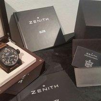 Zenith 96.2431.693/21.c738 Titane 2015 Pilot Type 20 GMT 48mm occasion