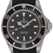 Rolex : Submariner :  14060M :  Stainless Steel : black dial