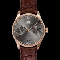 IWC Portuguese Automatic Red gold 42.30mm Grey United States of America, California, San Mateo