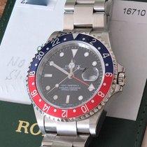 Rolex GMT-Master II 16710BLRO Pepsi Stick Dial Deutsch LC 100 2006 neu