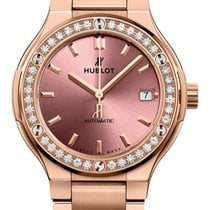 Hublot Classic Fusion King Gold Pink Bracelet  38 mm