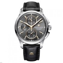 Maurice Lacroix PONTOS CHRONOGRAPH automatic 43mm black alligator