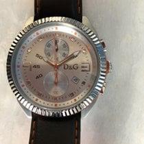 Dolce & Gabbana Acier Quartz lou crono  DW0034 nouveau