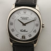 Rolex Cellini Danaos Белое золото 34mm Белый Aрабские