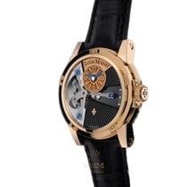 Louis Moinet Tempograph Rose gold 45mm Black