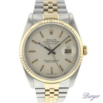 Rolex Datejust (Submodel) pre-owned 36mm Gold/Steel