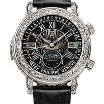 Patek Philippe Sky Moon Tourbillon nuevo 44mm Oro blanco
