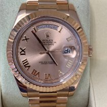 Rolex Day-Date II Rose gold 41mm Roman numerals United States of America, New Jersey, Totowa