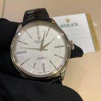 Rolex Cellini Time Złoto białe 39mm Czarny Polska, Warszawa