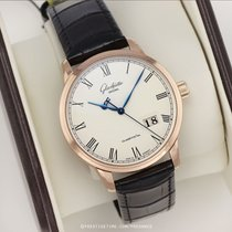 Glashütte Original Senator Panorama Date Rose gold 40mm White United States of America, New York, Airmont