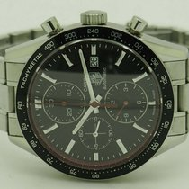 TAG Heuer Carrera Calibre 16 Steel 42mm Black No numerals United States of America, New York, Forest Hills