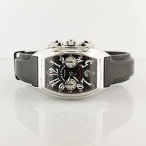 Franck Muller Steel 35mm Automatic 8005CC pre-owned
