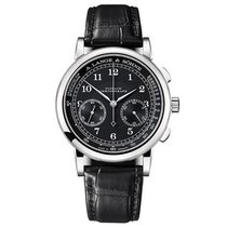 A. Lange & Söhne White gold Manual winding Black Arabic numerals 40mm pre-owned 1815