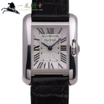 Cartier Tank Anglaise White gold 31mm Silver