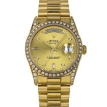 Rolex Day-Date Yellow gold 36mm Champagne No numerals United States of America, Maryland, Baltimore, MD