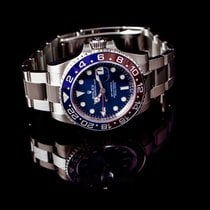 Rolex GMT-Master II White gold 40mm Blue United States of America, California, San Mateo