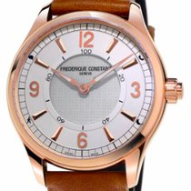 Frederique Constant Horological Smartwatch Gold/Steel 42mm Silver Arabic numerals