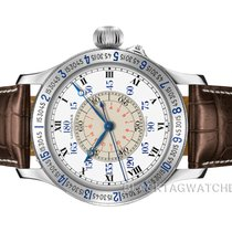 Longines Lindbergh Hour Angle Steel 47.5mm White Roman numerals United States of America, Florida, Aventura