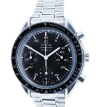 Omega Speedmaster Reduced Steel 39mm Black Arabic numerals Australia, Chadstone