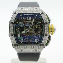 Richard Mille Bjelo zlato Automatika nov RM 011