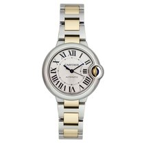 Cartier new Automatic 33mm Gold/Steel
