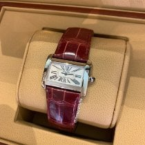 Cartier Tank Divan Steel 31.5mm White Roman numerals
