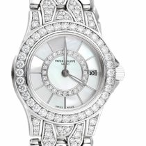 Patek Philippe Neptune White gold 26mm Mother of pearl