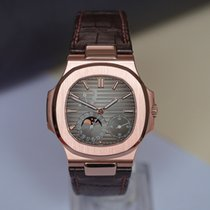Patek Philippe Nautilus Rose gold 40mm Brown No numerals United Kingdom, London