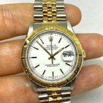 Rolex Datejust Turn-O-Graph Gold/Stahl 36mm Weiß Deutschland, Augsburg