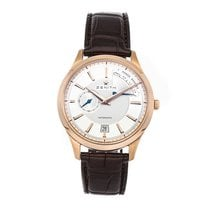 Zenith Captain Power Reserve Rose gold 40mm Silver No numerals United States of America, Pennsylvania, Bala Cynwyd