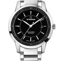 Eterna 2948.41.41.0277 Steel Tangaroa 42mm new