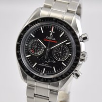 Omega Speedmaster Professional Moonwatch Moonphase Acero 44.25mm Negro Sin cifras