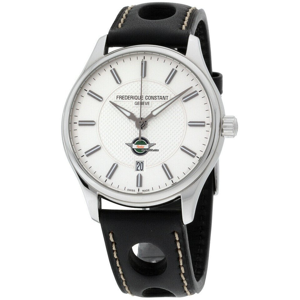 Frederique Constant Healey Automatic Movement Silver Dial Mens Watch Fc 303hs5b6