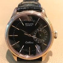 Rolex Cellini Date Roségold 39mm Schwarz Keine Ziffern Deutschland, Gütersloh