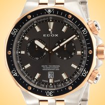 Edox Acero 43mm Cuarzo 10109 357RBUM NIR nuevo